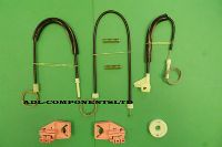 SKODA OCTAVIA WINDOW REGULATOR REPAIR KIT FRONT RIGHT